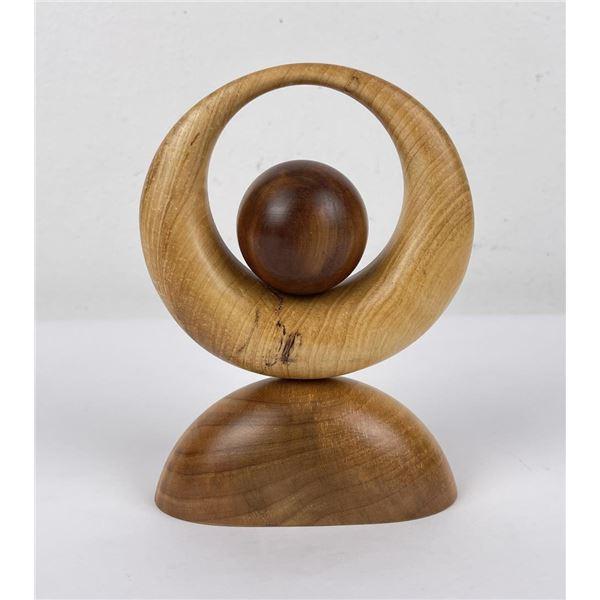 2014 Freeform Montana Carved Wood Sculpture
