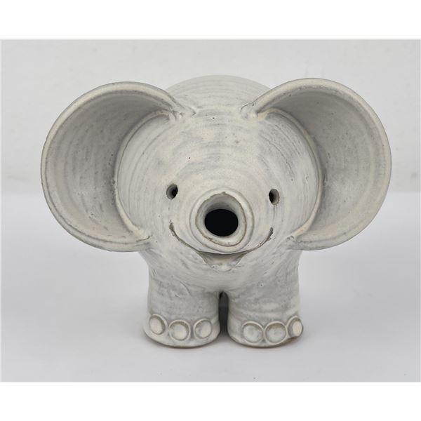 Montana Becky Eiker Studio Pottery Elephant