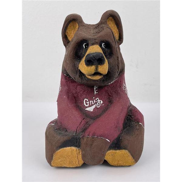 University of Montana Grizzlies Chainsaw Bear