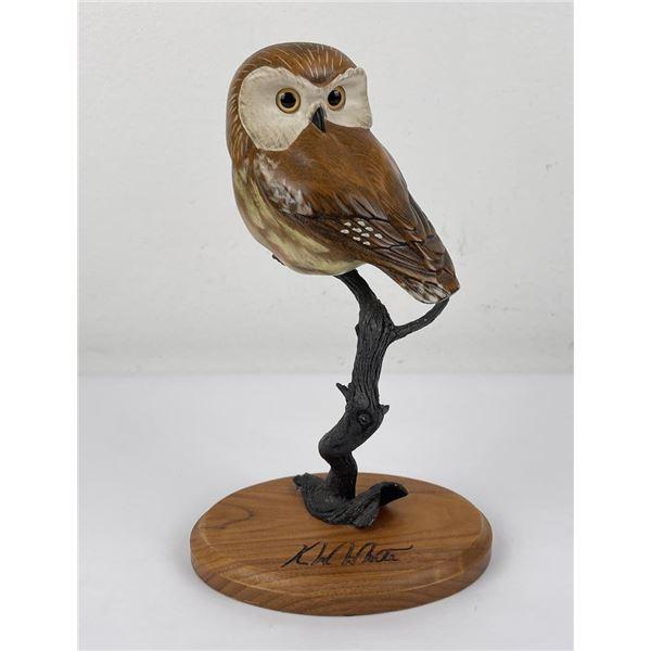 Montana Master Big Sky Carvers Owl KW White