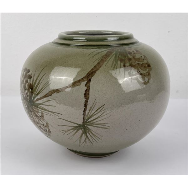 Montana Korn Studio Pottery Vase