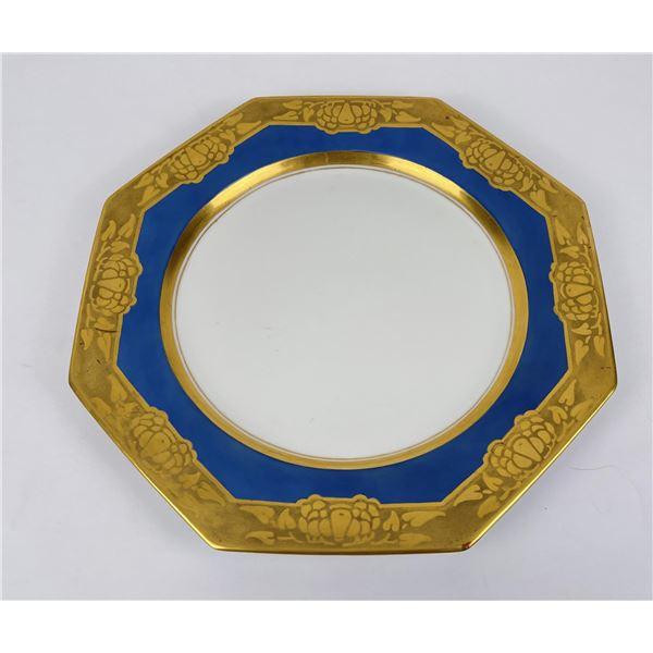 Art Nouveau Czechoslovakia Platter