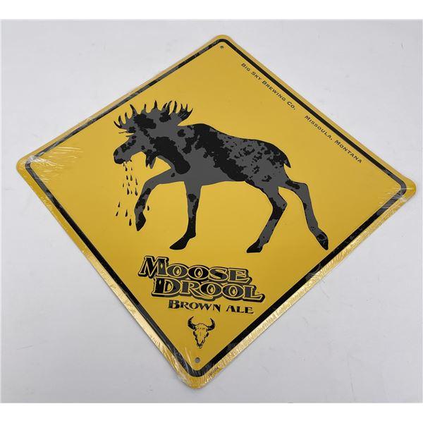 Big Sky Brewing Missoula Montana Sign Moose Drool