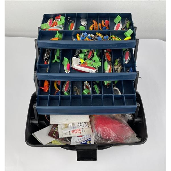 Fishing Tackle Box Full of Lures