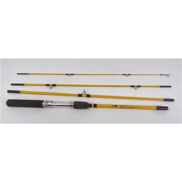 Eagle Claw Pack It PK601 Spinning Fishing Rod