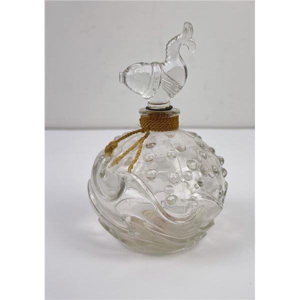 Glass Fish Perfume Bottle