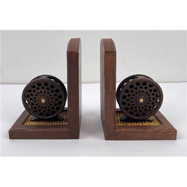Big Sky Carvers Fly Fishing Reel Bookends