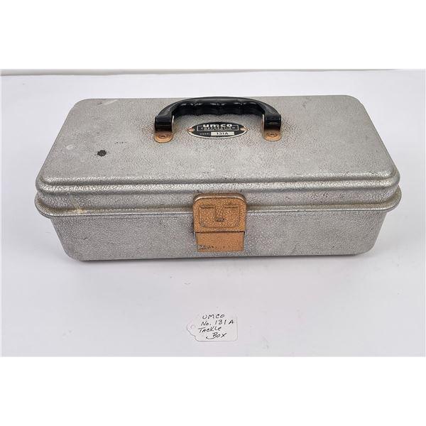 Vintage Umco Aluminum Fishing Tackle Box
