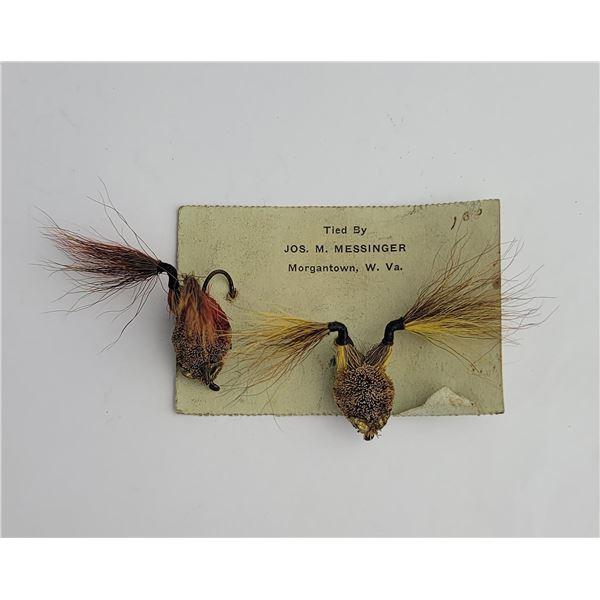 Pair of Joe Messinger Frog Fishing Flies