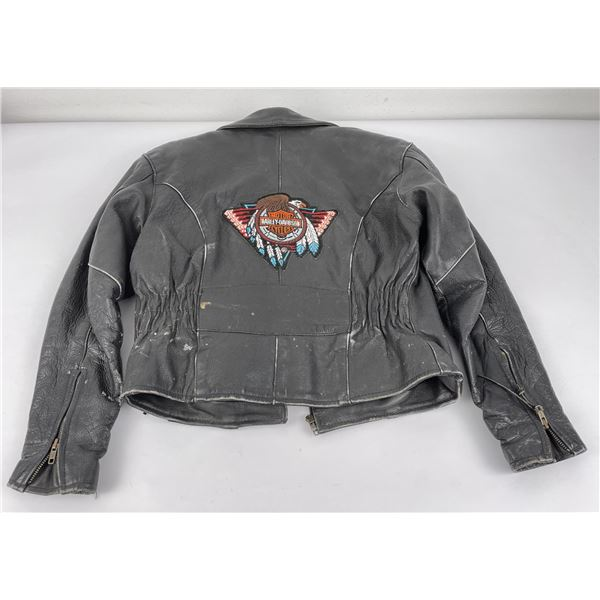 RGC Harley Davidson Leather Motorcycle Jacket