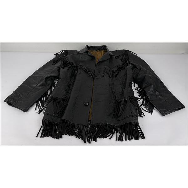 Vintage Fringed Leather Joo Kay Jacket