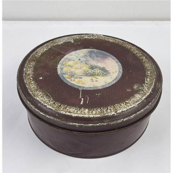 Antique Biscuit Tin