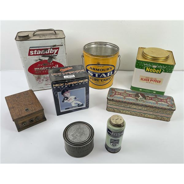 Group of Vintage and Antique Items