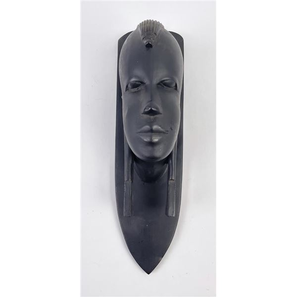 Ye Olde Curiosity Shop African Wood Head