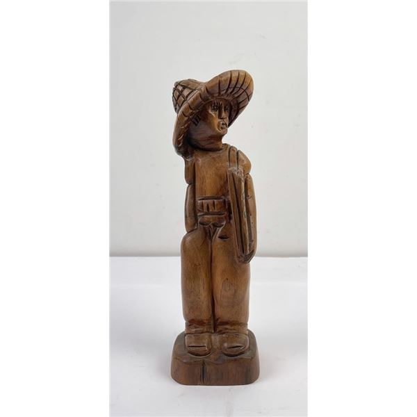 South Pacific Wood Carving