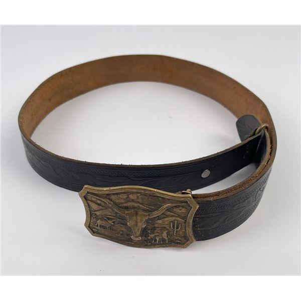 Vintage Montana Cowboy Belt