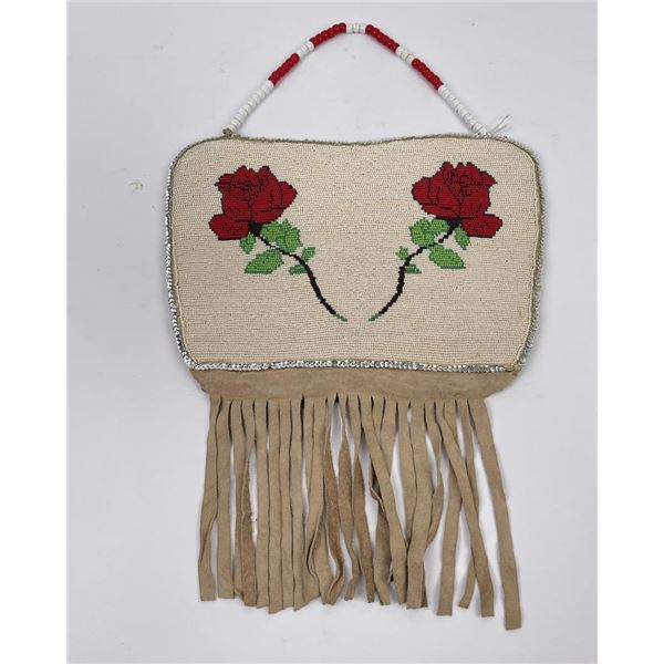 Plateau Native American Indian Beaded Bag