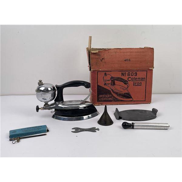 Vintage Coleman 609 Iron