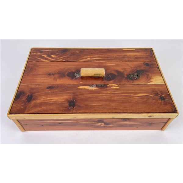 Montana Custom Made Wood Box