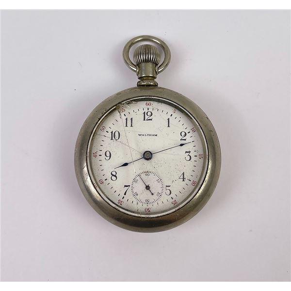 Antique Waltham Railroad Pocket Watch