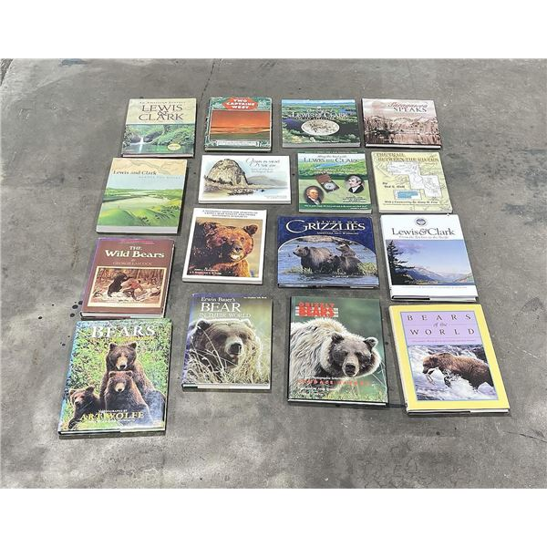 Montana Outdoors and History Book Lot