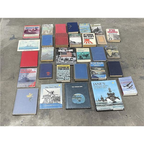 Group of Military History Books