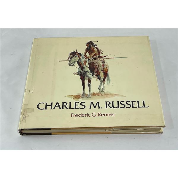 Charles Russell Art Book Frederic Renner