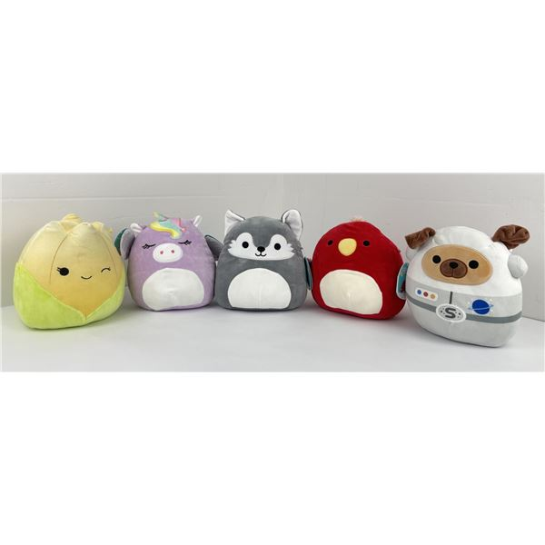 Lot of 5 Squishmallows