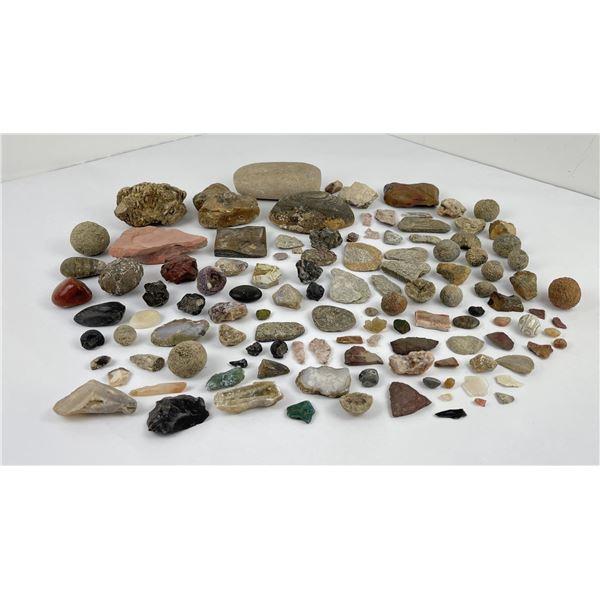 Group of Assorted Rocks Mineral Specimens