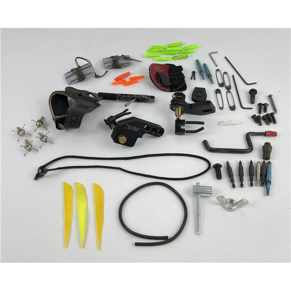 Group of Archery Supplies