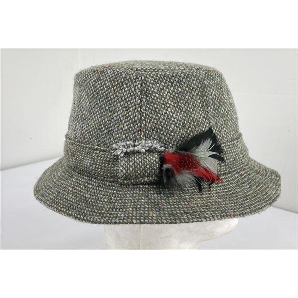 Vintage Hanna Hats Ireland Wool Hat