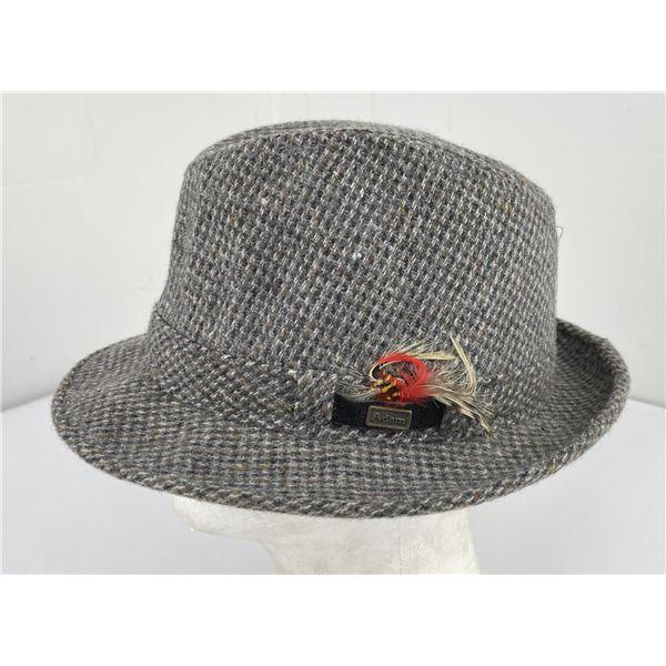 Vintage Adam Tweed Wool Hat
