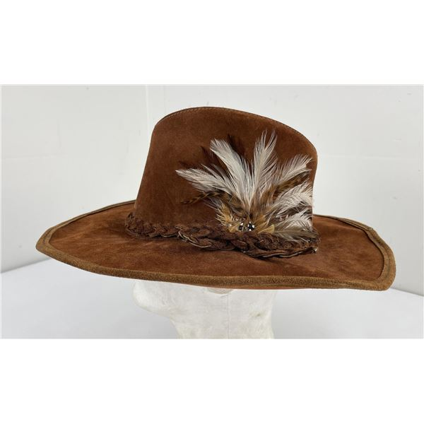 Vintage Tandy Leather Company Hat