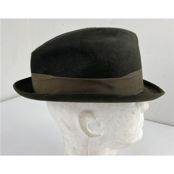 Vintage Stetson Selv Edge Fedora Hat