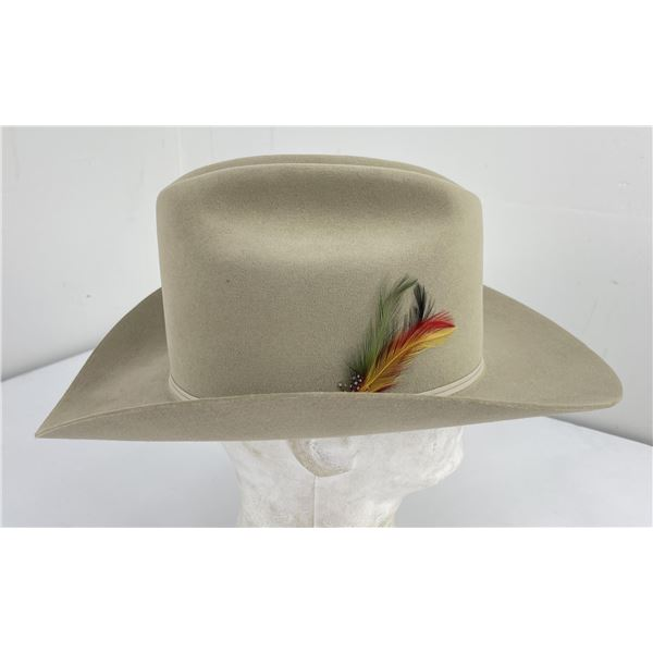 Vintage Stetson 4X Beaver Cowboy Hat