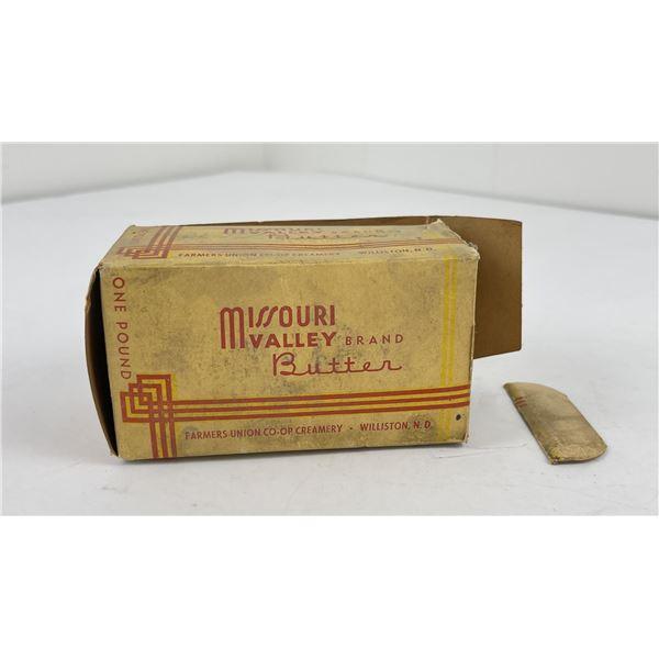 Missouri Valley Butter Box North Dakota