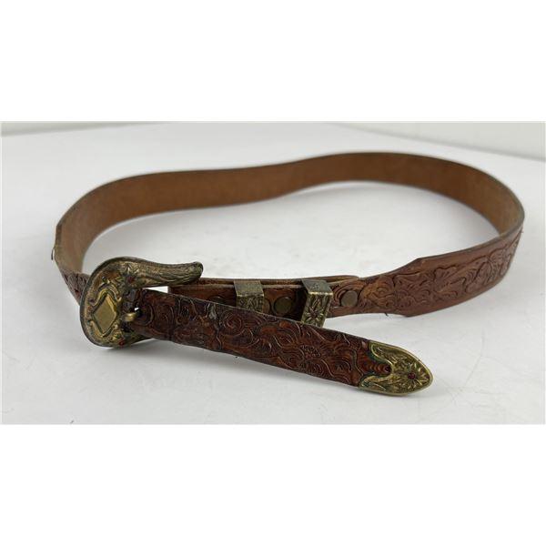 Vintage Justin Cowboy Ranger Belt