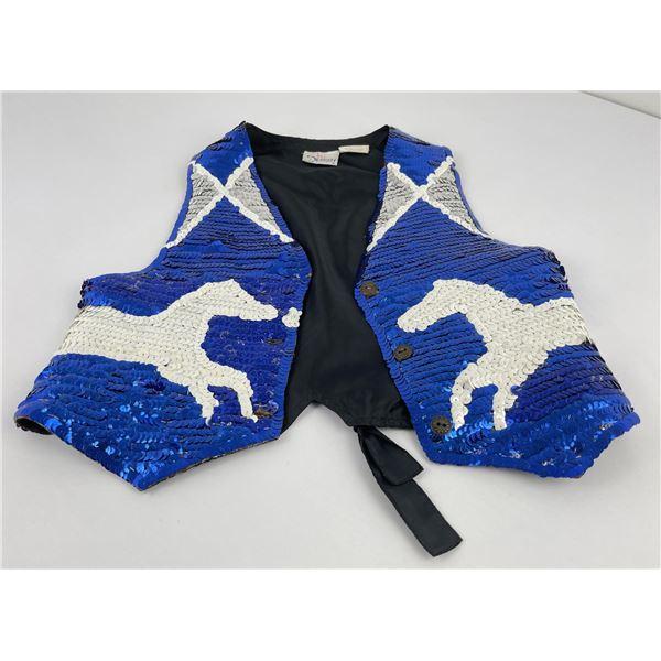 Montana Indian Sequin Pow Wow Vest