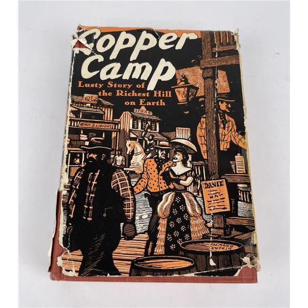 Copper Camp Montana Mining Book