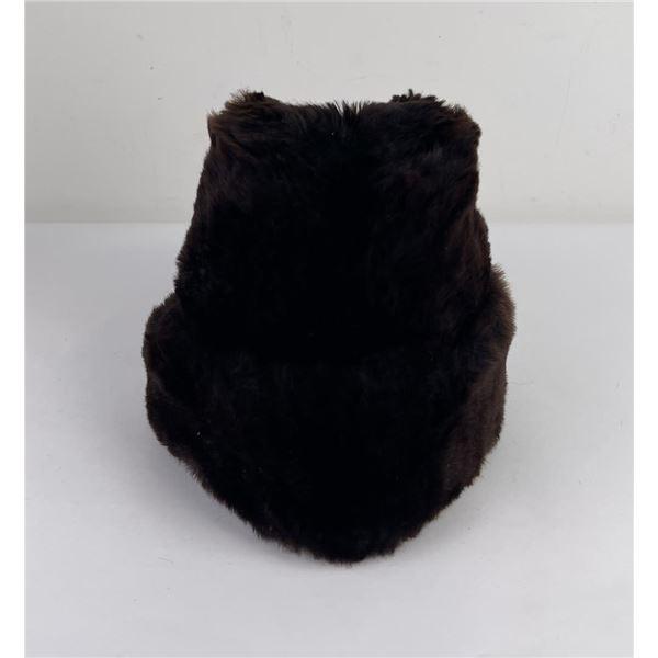 Vintage Canadian Fur Trapper Hat