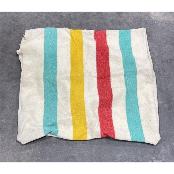 Hudsons Bay Wool Pillow Case