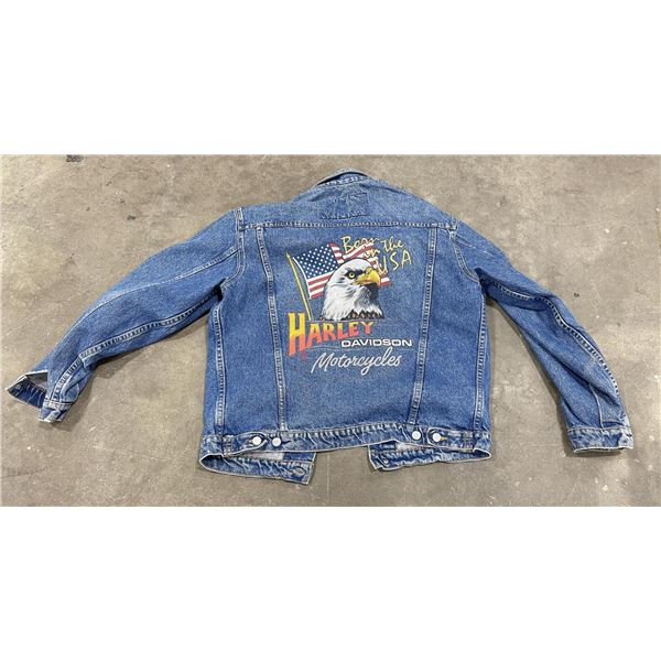 Harley Davidson Motorcycles Denim Jacket