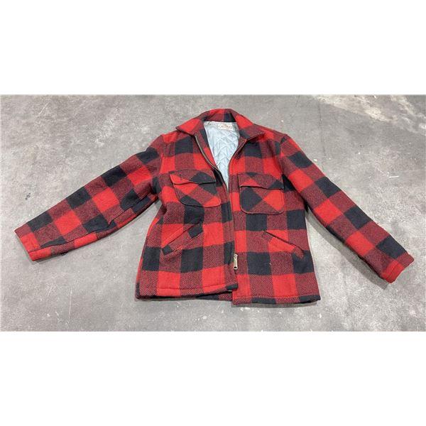 Vintage 5 Brothers Wool Mackinaw Jacket