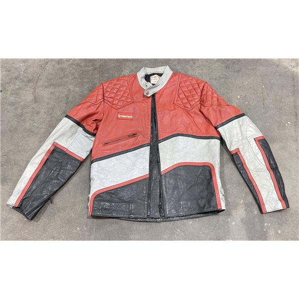 Interstate Great Britain Cafe Racer Leather Jacket