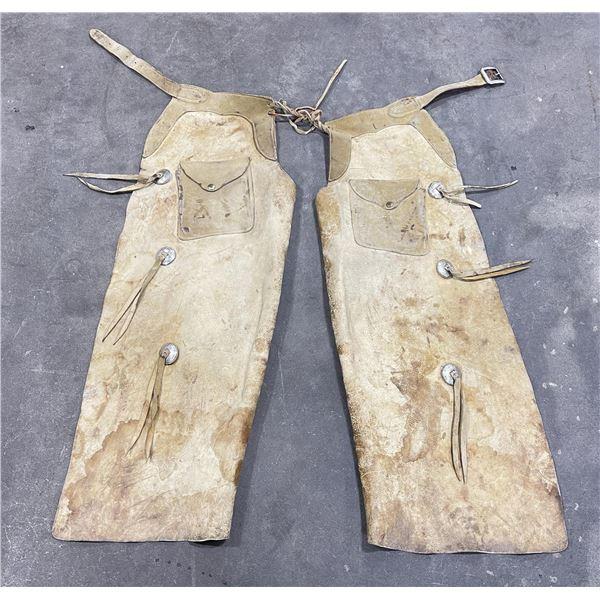 Montana Leather Cowboy Chaps