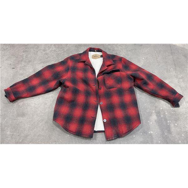 Woolrich USA Made Wool Mackinaw Jacket