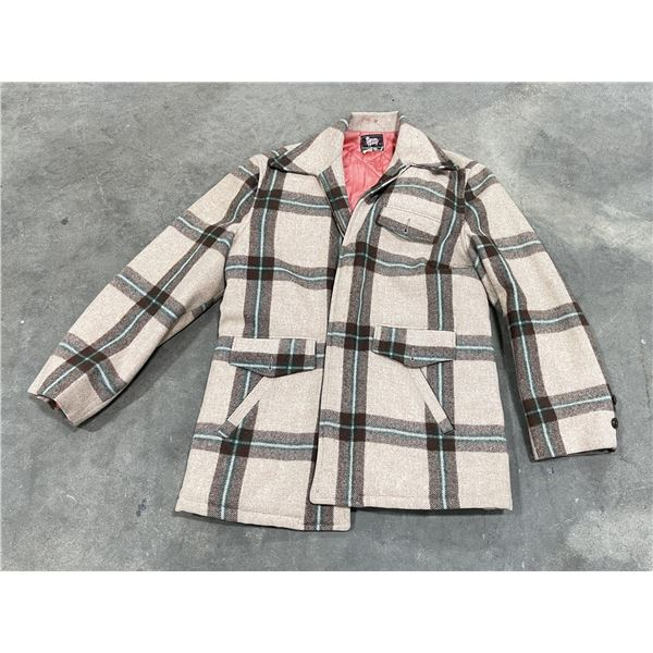 Vintage Woolrich Mackinaw Coat Jacket