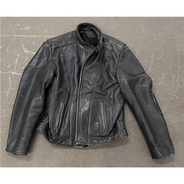 Fox Creek Leather Motorcycle Jacket USA Made
