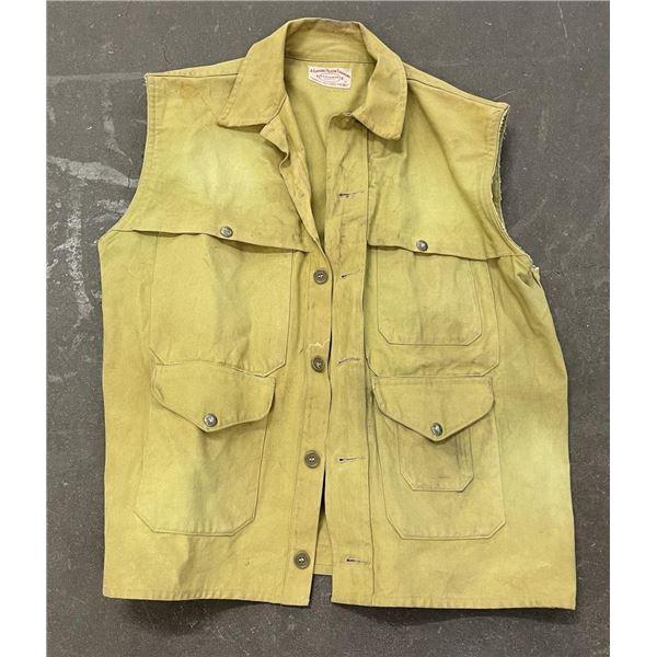Filson Tin Cloth Hunting Vest