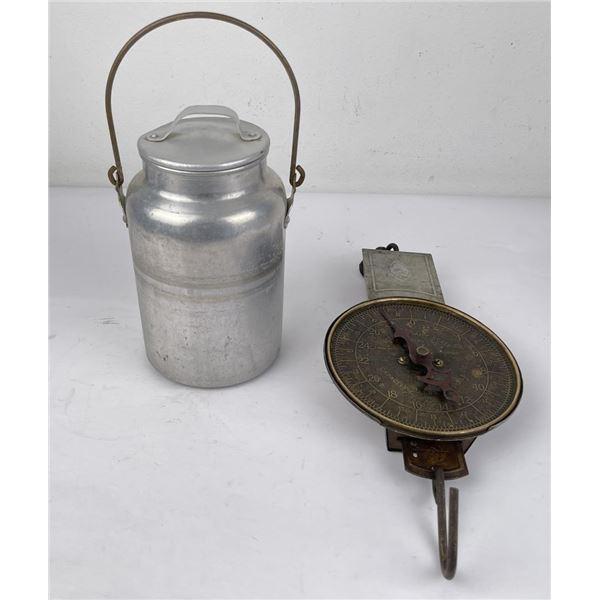 Antique Pelouze Dairy Scale